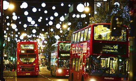 Oxford Street Christmas Lights, London, Britain - 12 Nov 2013